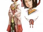 Princess Kiku Concept Art